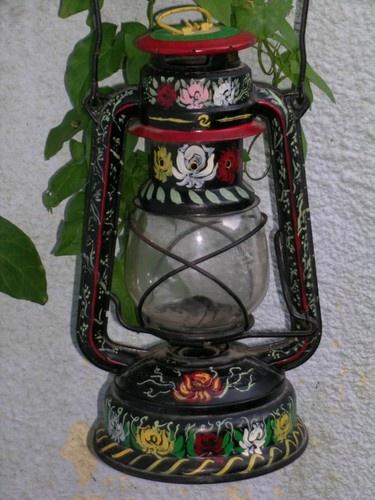 GREEN PARAFFIN / KEROSENE BARGEWARE LAMP 865 BARGE WARE K3806   eBay