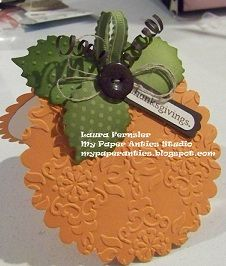 Monday, October 1, 2012 My Paper Antics Brenda Riehle: leaves were die-cut with the new Autumn Accents die