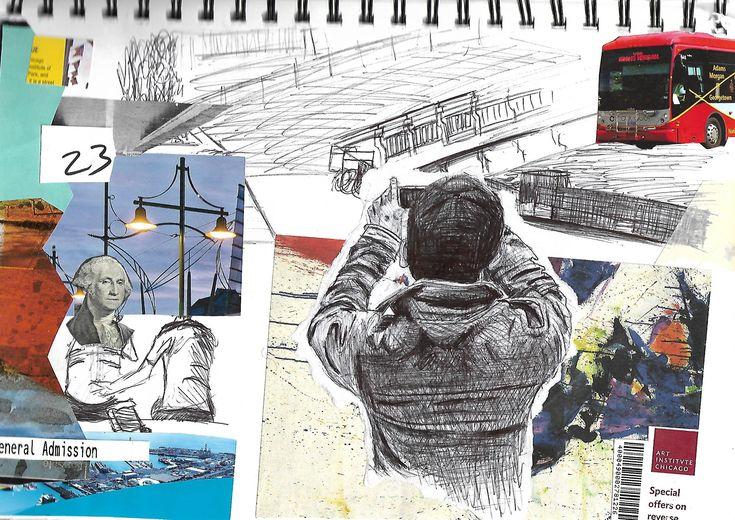 sketchbook page