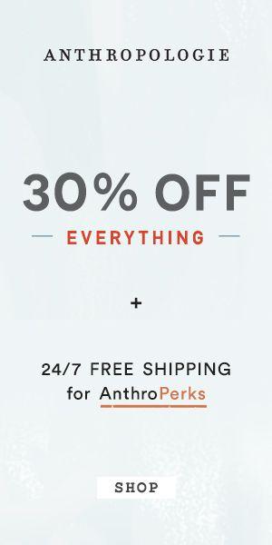 Anthropologie Black Friday Sale