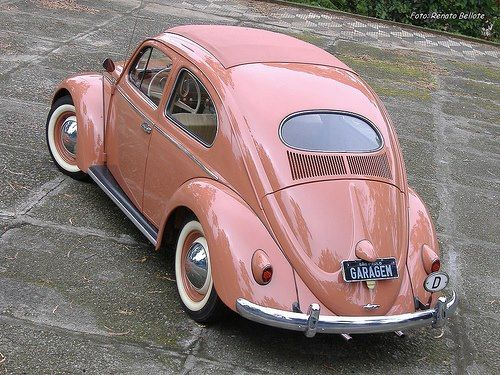 VW beetle Oval Window light rose colored | HyperGarage ...