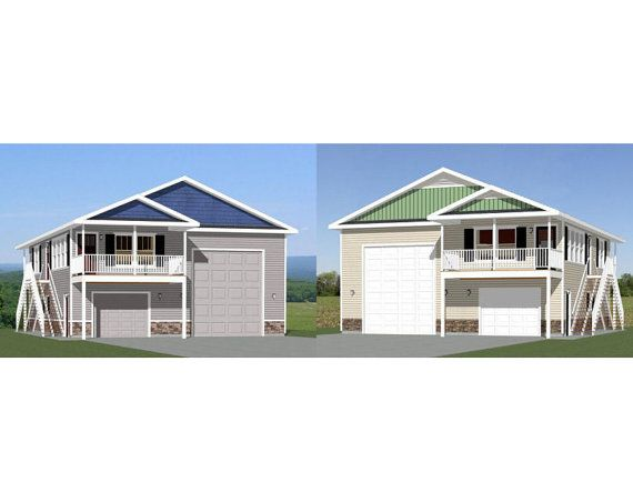 Motorhome garage with apartment with popular styles for Motorhome garage kits