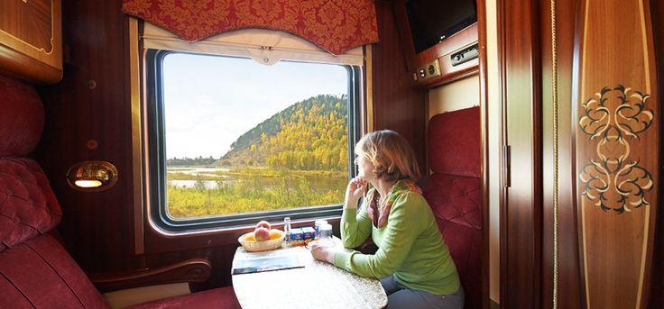 www.lernidee.de/transsib In Ihrem gemütlichen Abteil genießen Sie nicht nur ruhige Schlummerstunden, sondern auch einzigartige Ausblicke.