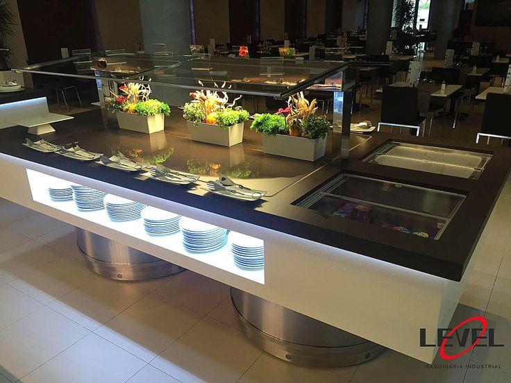 Hotel Don Carlos RH (Peñiscola) Buffets + Show cooking #maquinaria #hosteleria #servicios #benidorm #Peñiscola #Mediterraneo #buffets #showcooking #hotelesrh.