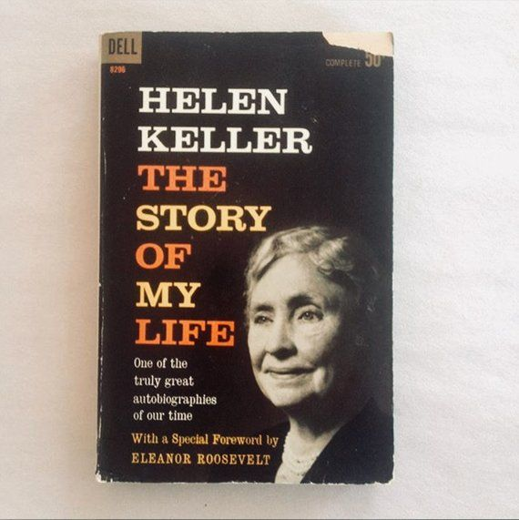 Helen Keller The Story Of My Life Autobiography Paperback