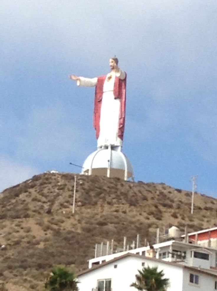 Jesus statue in Rosarito, Baja California, Mexico | My ...
