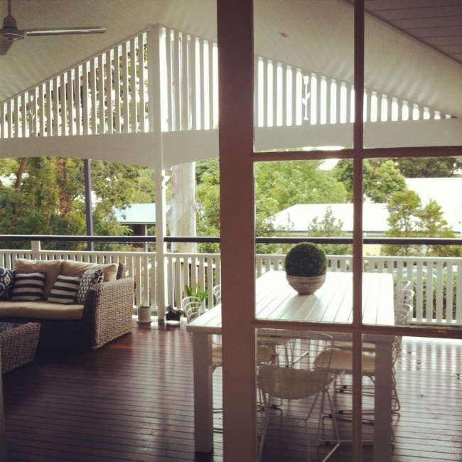 A perfect queenslander renovation outdoor rooms and for Kitchen ideas for queenslanders