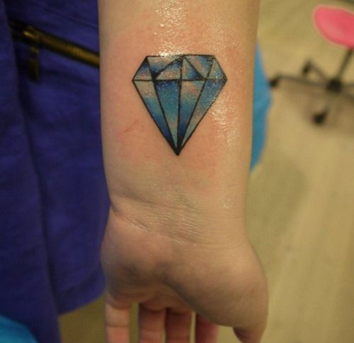 Diamond Tattoos Designs