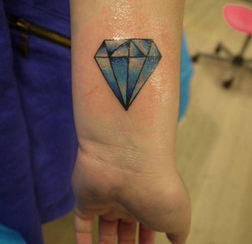 Diamond Tattoos Designs