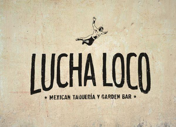 Lucha Loco by Bravo Company , via Behance
