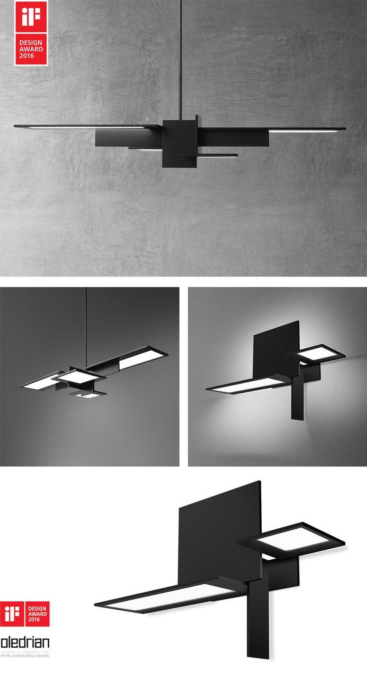 OLEDRIAN lighting fixture won iF Design Award 2016 - aquaformlighting.com