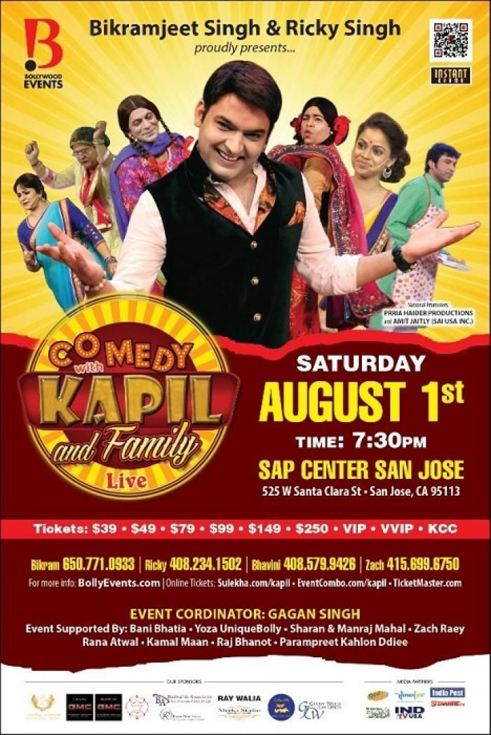 COMEDY WITH KAPIL SHARMA AND FAMILY - A NON STOP COMEDY SHOW by Bombay Love