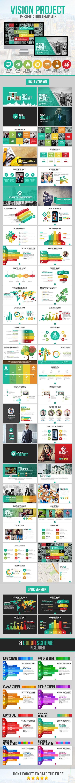 Vision Project Presentation Template #powerpoint #powerpointtemplate #presentation Download: http://graphicriver.net/item/vision-project-presentation-template/10122872?ref=ksioks
