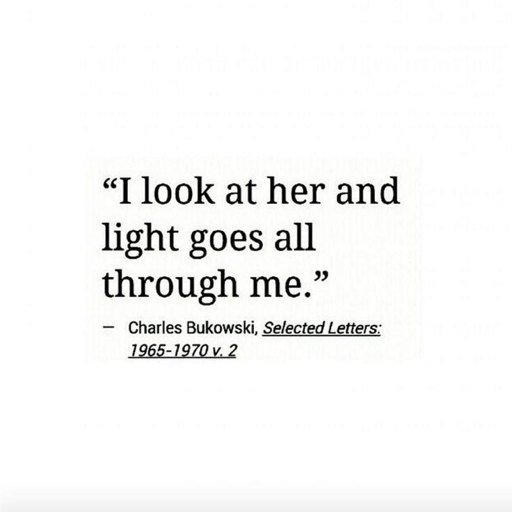 Beautiful quote by Charles Bukowski.