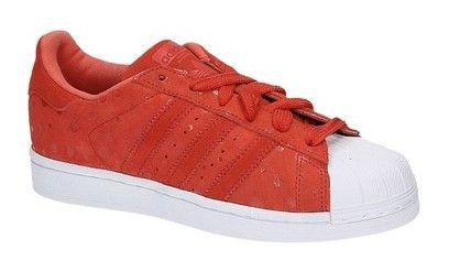 Adidas SUPERSTAR W rode lage sneakers