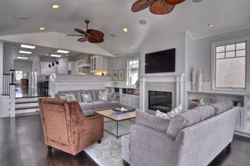 70s Split Level Remodel Design Ideas Pictures Remodel And Decor Page 7 Traditional Home