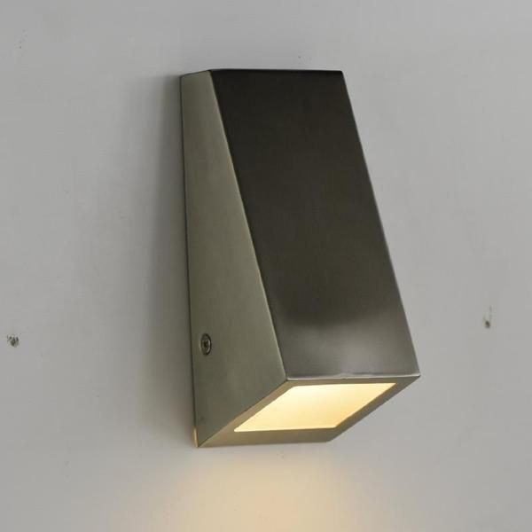 Shop Here For This Stainless Steel Wall Wedge Available In 240 Volt Or 12 Volt Led Australia Wide Delivery Led Wall Lights Wall Lights Exterior Wall Light