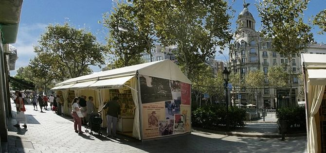 Alquiler de Carpas Para Ferias Barcelona   TendalCarp