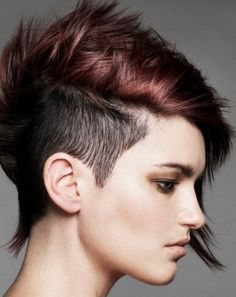 Short Shaved Hairstyles 40 chic short haircuts popular short hairstyles for 2017 Best 20 Short Punk Hairstyles Ideas On Pinterest Punk Pixie Haircut Short Punk Haircuts And Short Undercut
