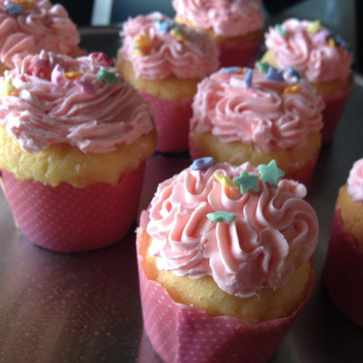 Recipe Buttery Vanilla Cupcakes by Leanne Sloss - Recipe of category Baking…