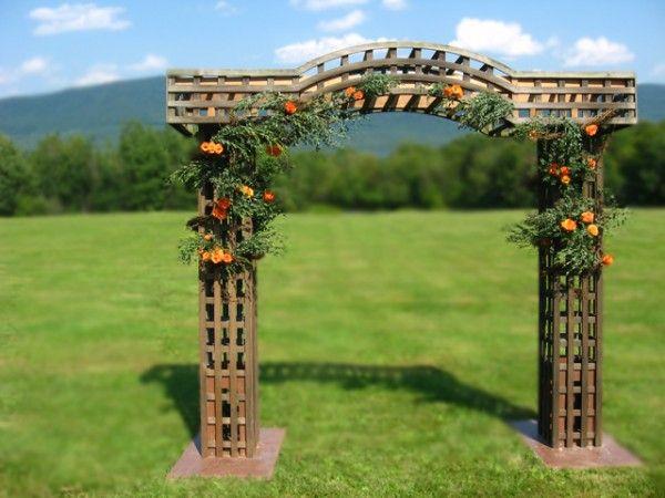 Trellis Outdoor Wedding Ceremonies: 124 Best Wedding Arches, Trellises, Huppas, Chuppas