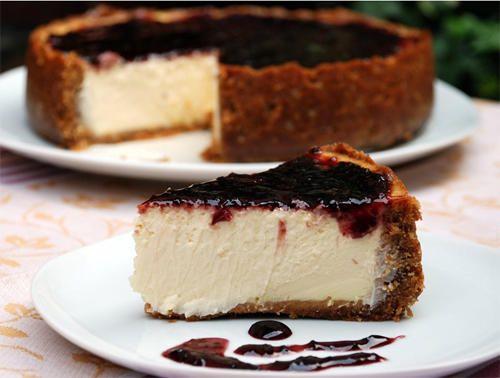 New York Cheesecake o tarta de queso Philadelphia | Recetas para bebés y niños. Meriendas infantiles, desayunos, postres...