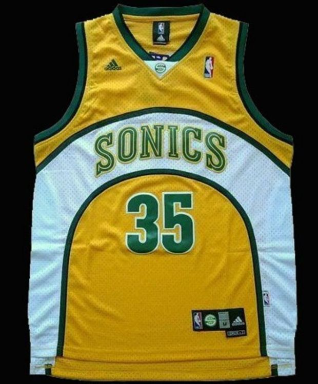 b85e27a5935 Kevin Durant 35 Seattle SuperSonics NBA Basketball Jersey Kevin Durant Seattle  Sonic