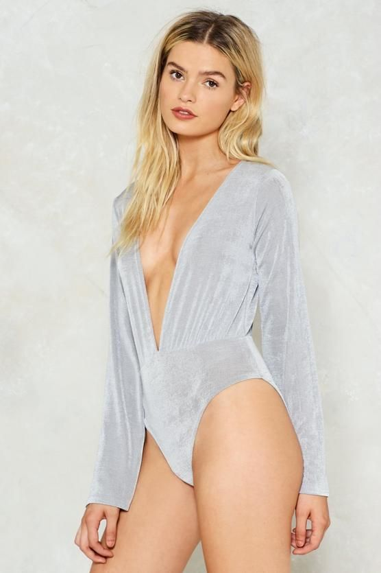 Funnel of Love Plunging Bodysuit
