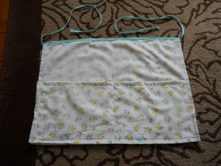 Pillowcase Waist Apron by Linda