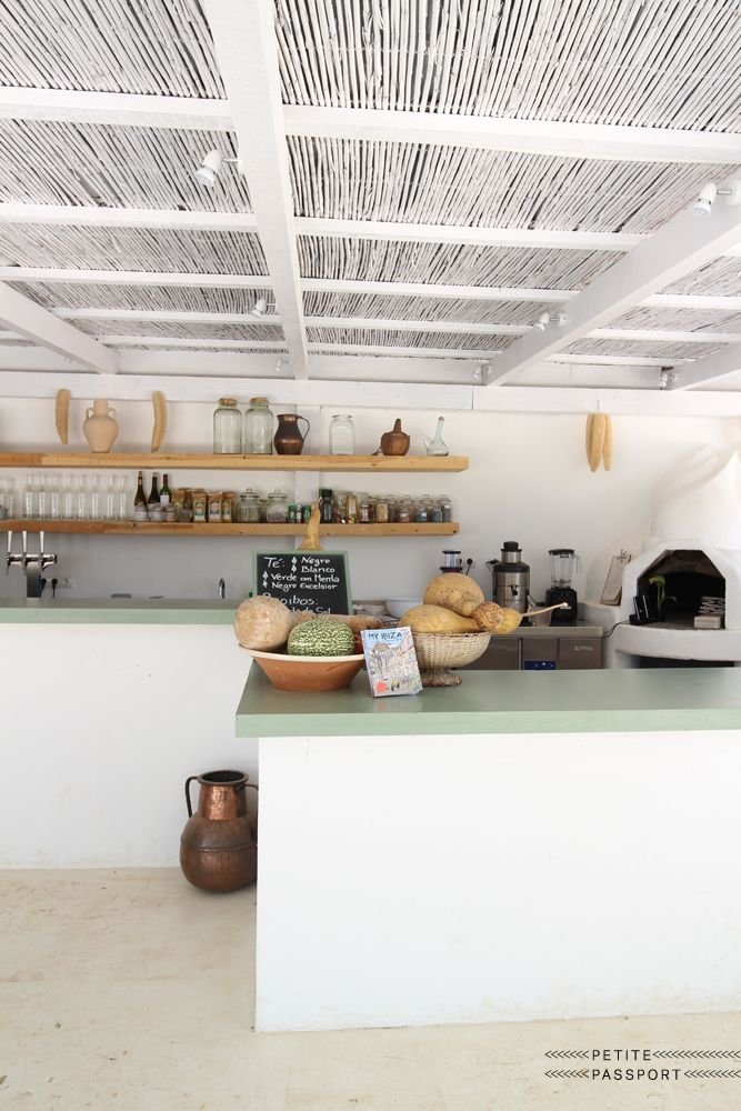pinned by barefootblogin.com Restaurant Aubergine | Ibiza