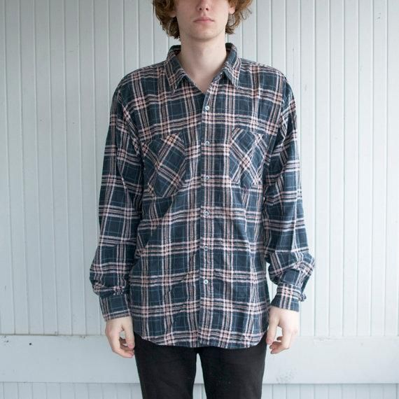 Honey | Vintage 90's Flannel Shirt from etsy. Not cheap, but authentic grunge ;)