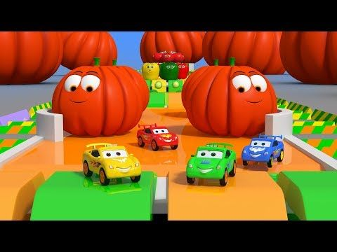 Cars race on tracks and go through vegetable obstacles. Have fun with colorful cars and enjoy their race. You will love the vegetables and their colors too . See who the winner is | kids | kindergarten | preschool | educational | wheels on the cars | cars | toys | vegetables | parents | kiddiestv (c) Image Devices (I) Pvt ltd 2017