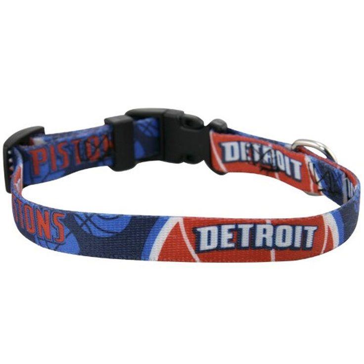 Detroit Pistons Dog Collar - $5.99