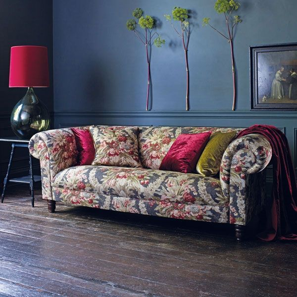 Linwood Fabric Midnight Ramble | TM Interiors Limited