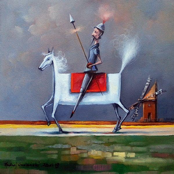 Don Quixote by Andrzej Gudanski on ArtClick.ie Ireland Art