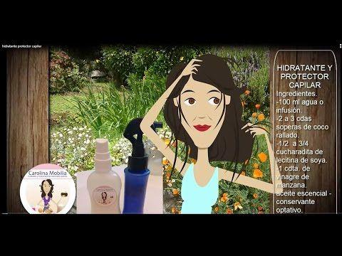 Spray Hidratante y  protector capilar