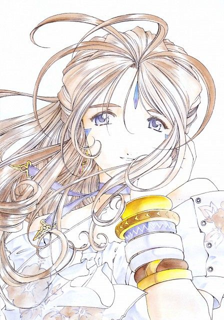 Kousuke Fujishima, Anime International Company, Ah! Megami-sama, Belldandy, Manga Cover