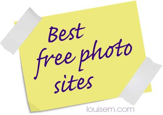 Best FREE Photo Sites: The Most Recommended Free Image Sites [the strategic use of images can radically boost your visibility and sharability] via  @Louise Myers