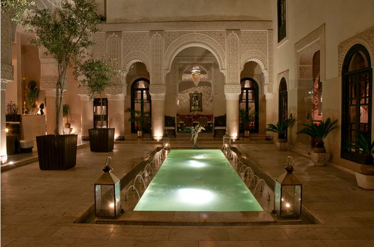 Riad Fes in Fez, Morocco - More Gorgeous Moorish Architecture