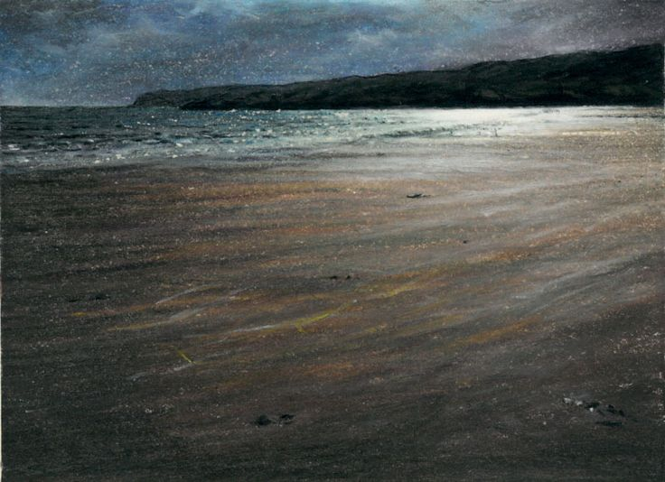 Redpoint Beach in the Twilight by Philip Edwards