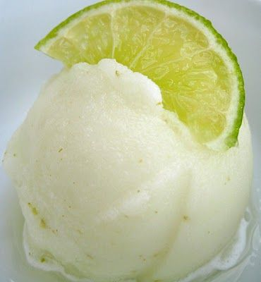 Smooth Homemade Lime Sorbet (Without an Ice Cream Maker!)