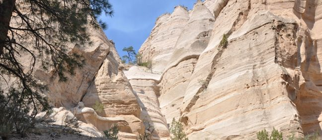 Kasha-Katuwe Tent Rocks National Monument, New Mexico | Top 5 Eco-Friendly Tourist Attractions in New Mexico www.greenglobaltravel.com