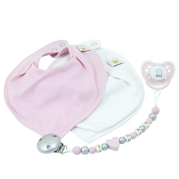 Littlemico™ Pink Gift Set, I Love Dad.