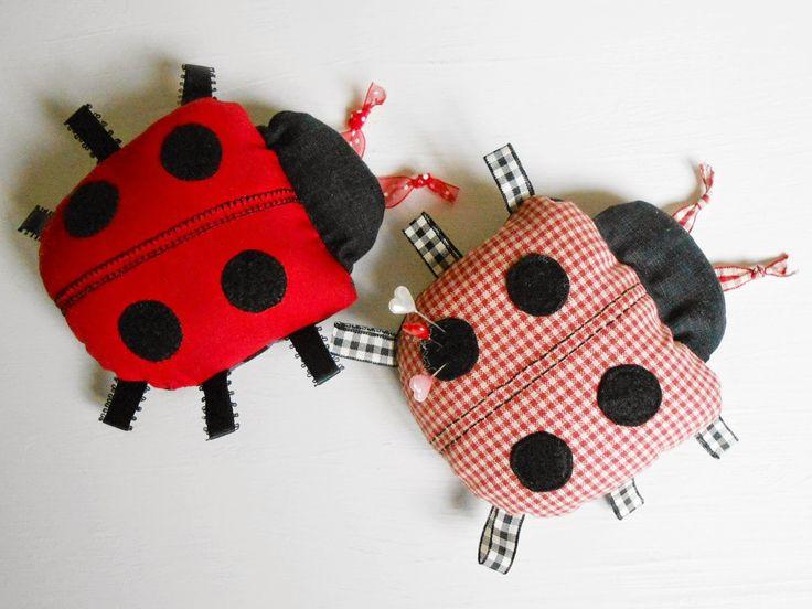 Patchsmith's Ladybug Pincushion