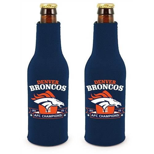 Denver Broncos 2016 AFC Champions Bottle Suit (2 Pack)