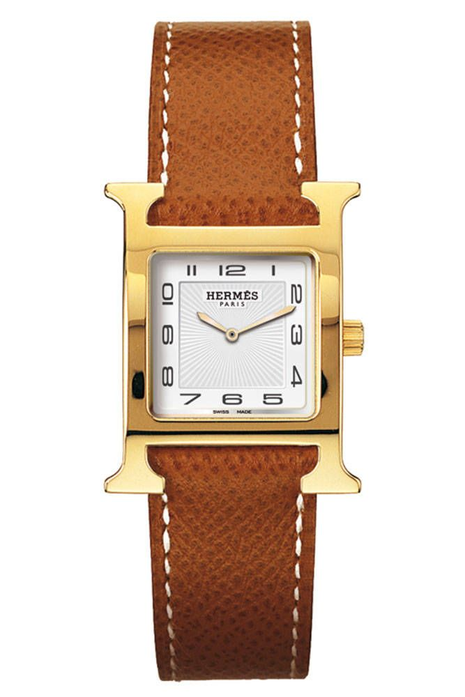 One to save up for, a great watch is a lifetime piece and one worth eschewing a fair amount of throw-away trendy items in favor of buying. Hermès H Heure watch, $2,350, Available at Hermès Boutiques Nationwide, hermes.com for store locations   - HarpersBAZAAR.com