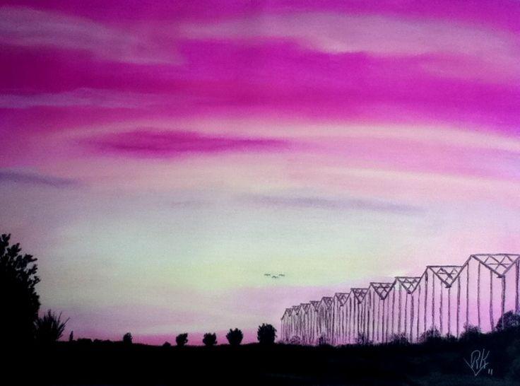 Ronald van der Kooij - Westland Sunset