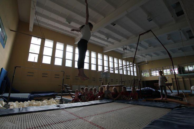 """Obiekt gimnastyczny im. Leszka Blanika, zwany """"Sokolnią"""". Kuźnia gimnastycznych talentów. (Foto: Remigiusz Śmietana)"""