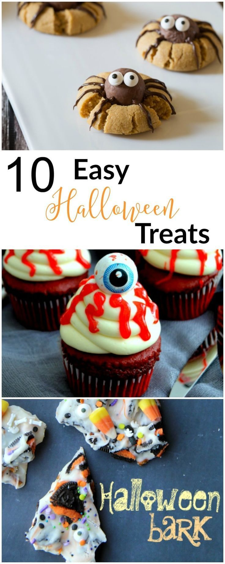 So many spooky ideas for Halloween desserts