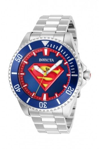 76be7ff31 INVICTA DC COMICS Limited Edition Superman Mens Automatic 47MM Stainless  Steel Case Blue Dial - Model 26896